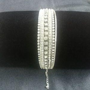 Jewelry - MultiStrand Crystal Bracelet